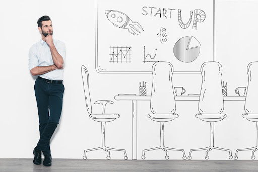 Man considering how to start a recruitment agency